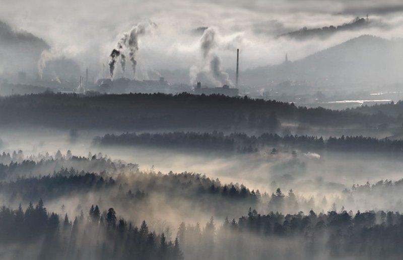 Сказочные фотопейзажи аэрофотографа Матяжа Катера - №17