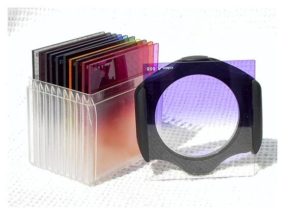 Цветные градиентные фильтры