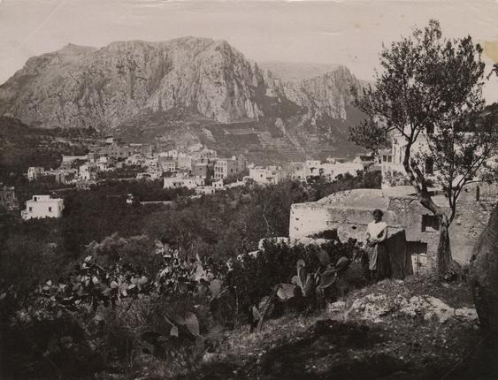 Фотоателье Эспозито. Монте Соларо. о. Капри. 1880