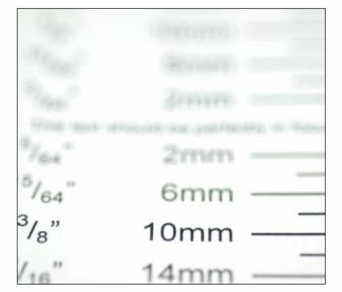 Проверка автофокуса объектива - фронт фокус