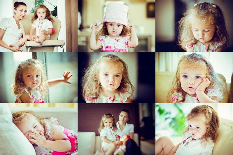 Идеи для фотосессии с маленьким ребенком