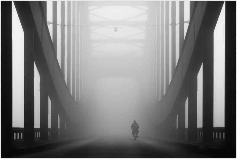 Черно-белое спокойствие симметрии Кая Зиля - №1