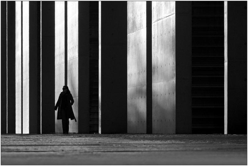 Черно-белое спокойствие симметрии Кая Зиля - №29