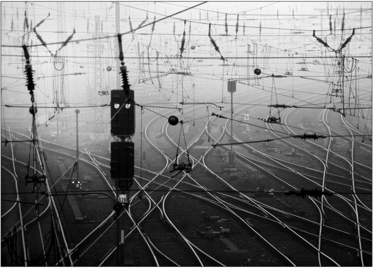Черно-белое спокойствие симметрии Кая Зиля - №45