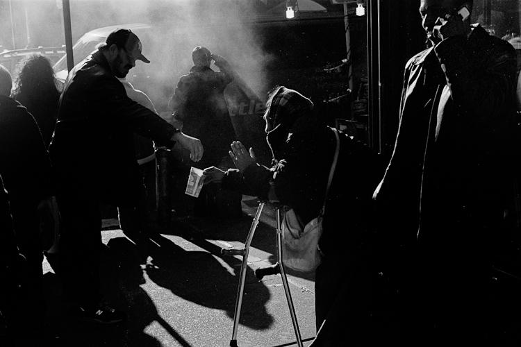 Черно-белый Нью-Йорк Дэйва Бекермана - №9
