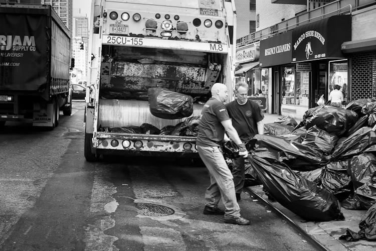 Черно-белый Нью-Йорк Дэйва Бекермана - №14