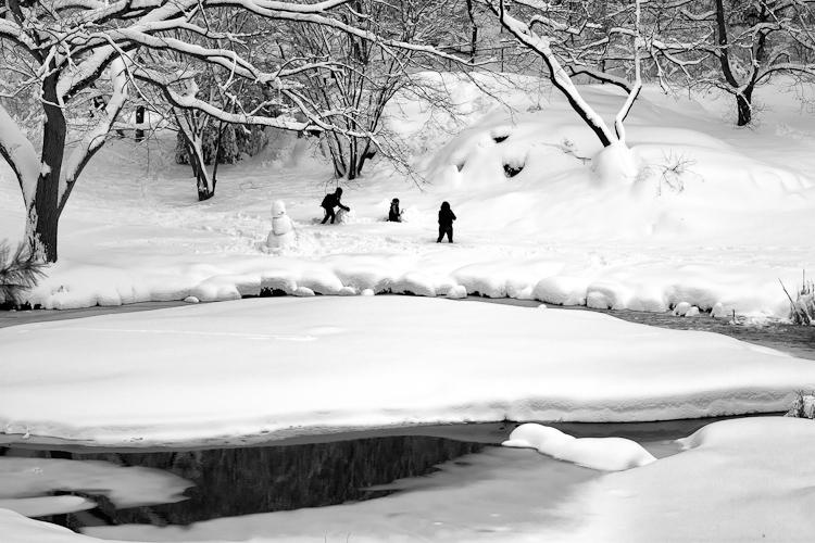 Черно-белый Нью-Йорк Дэйва Бекермана - №19