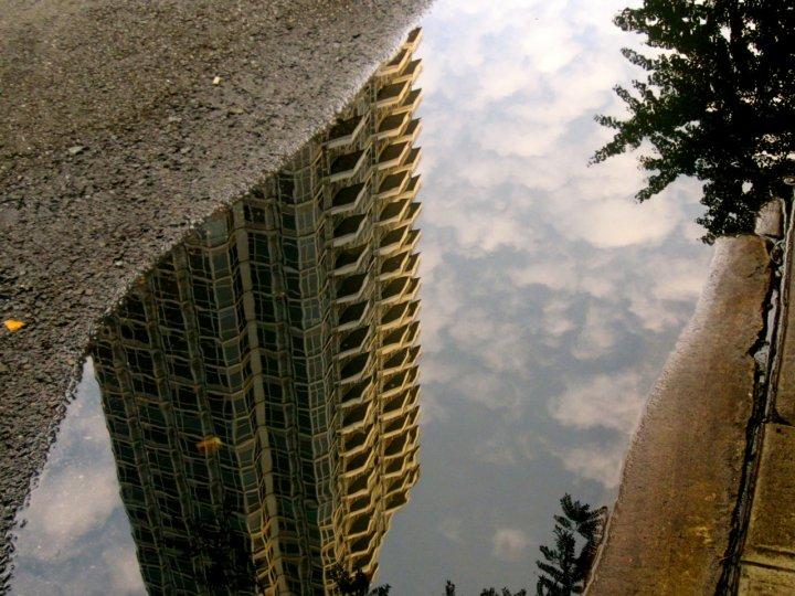 «Архитектурные лужи» Мадлен Диганги - №5