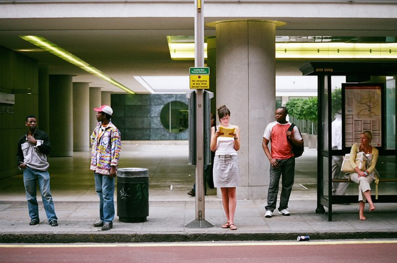 Автобусные остановки фотографа Richard Hooker - №13
