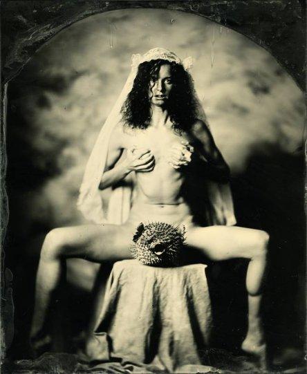 Амбротипия. Удивительные фотографии Миши Бурлацкого. - №13
