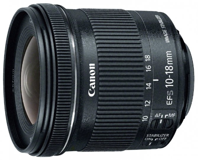 Canon 10-18is