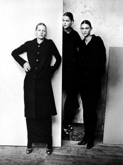 Красота в портретах Петера Линдберга - №33