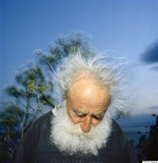 Невидимый мир Афона в фотографиях Стратоса Калафатиса - №1