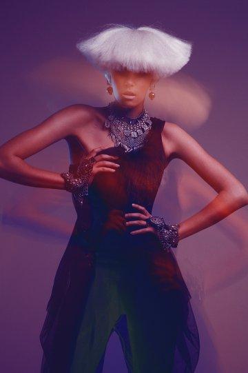 Экстравагантные фотографии моды Брайана Зиффа - №15