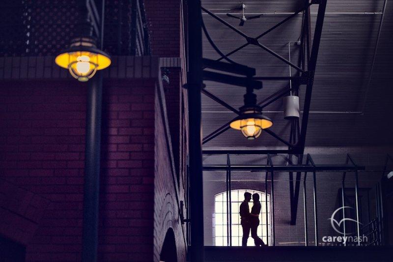 Необычные свадебные фотографии от Кэри Нэша - №10