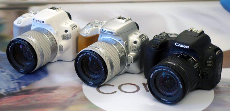 три варианта цветов камеры