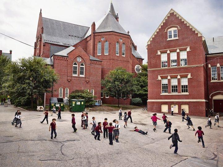 Начальная школа Св. Марии Успенской, Бруклин, Массачусетс
