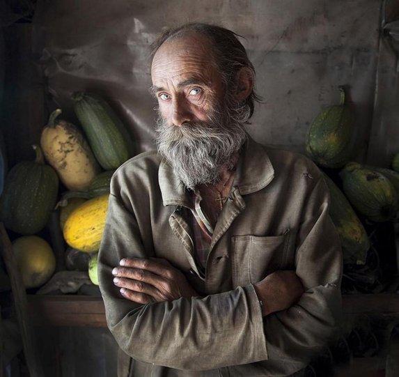 «Портрет с кабачками». Автор фото: Андрей Хитайленко