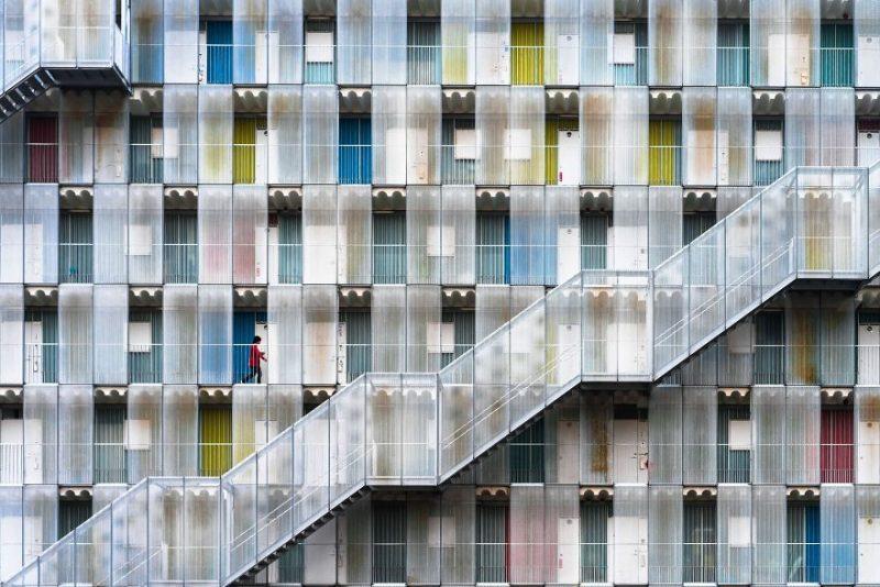 """Поощрительная премия в категории """"Города"""": """"Цветастый дом"""", Китагата, префектура Гифу, Япония, автор – Тецуя Хасимото"""