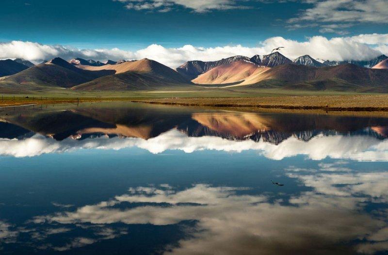 Озеро Нам-Цо: Тибетское нагорье