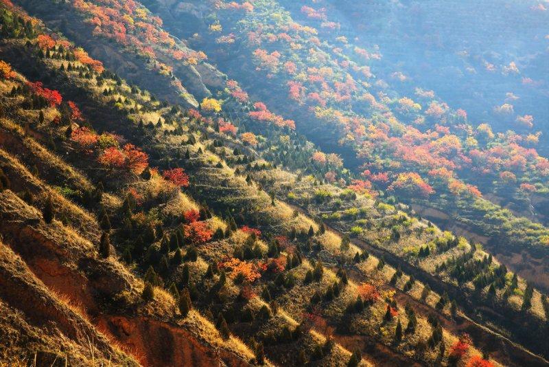 Красивые пейзажи китайской провинции Ганьсу - №7
