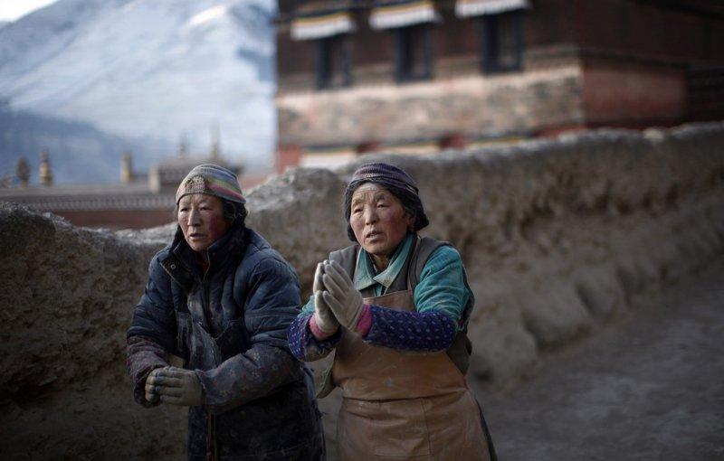 Красивые пейзажи китайской провинции Ганьсу - №19