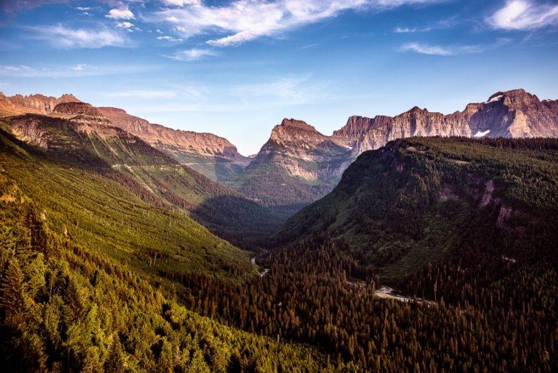 Национальный парк Глейшер - №7