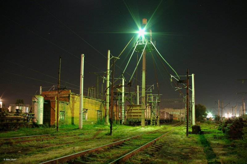 The Territory of depot in Tikhoretck _ Территория_