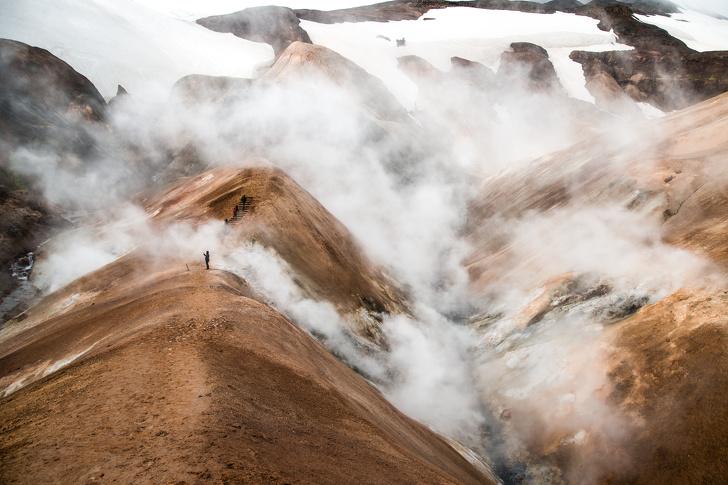 Горный хребет Кедлингарфьёдль, Исландия