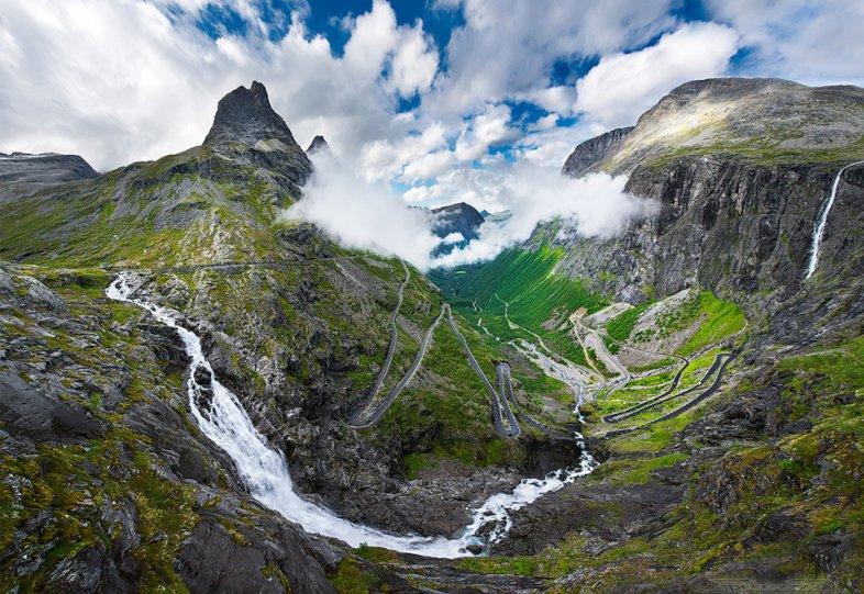 Роскошные пейзажи Норвегии - №4