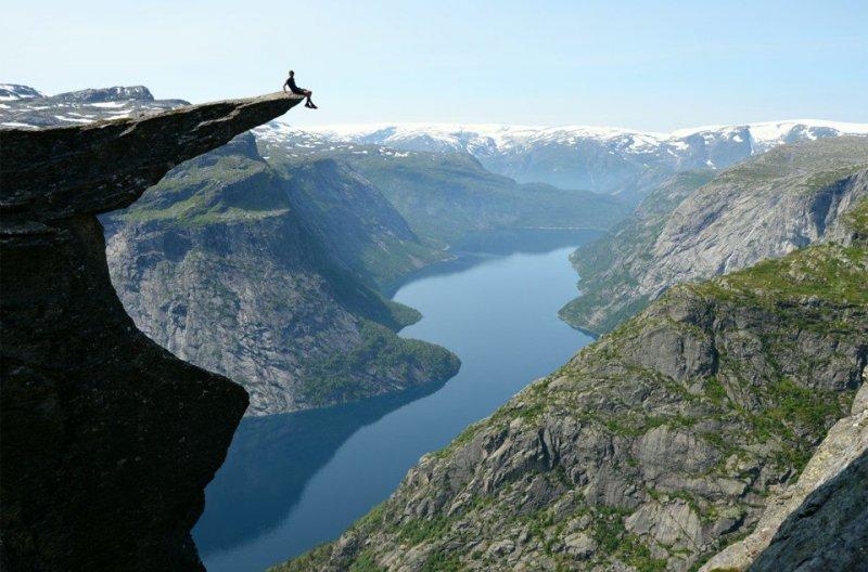 Роскошные пейзажи Норвегии - №1