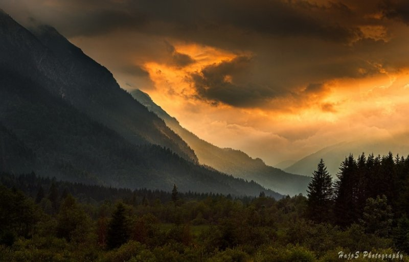 Красивые пейзажные фотографий со всей Земли - №17