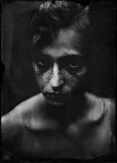 Потрясающие чёрно-белые портреты - №22