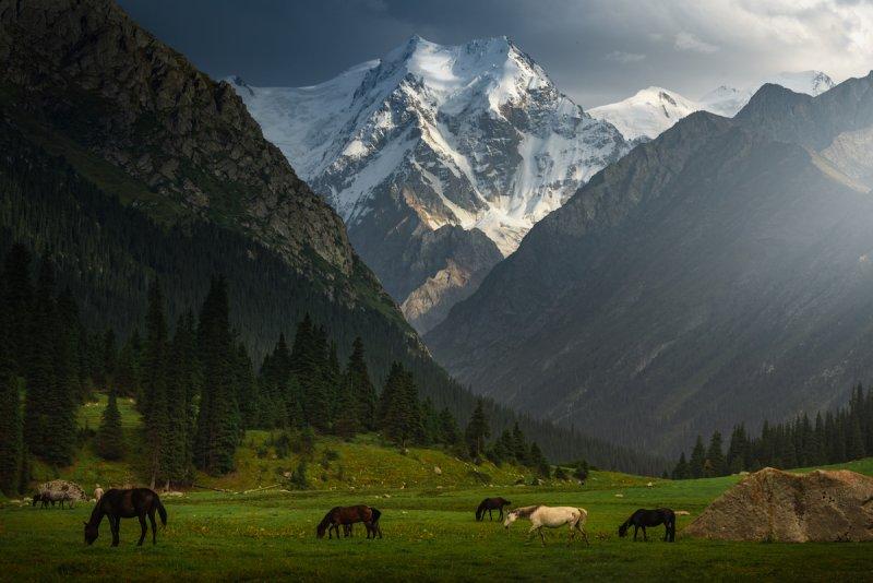Потрясающие пейзажи Киргизии - №2