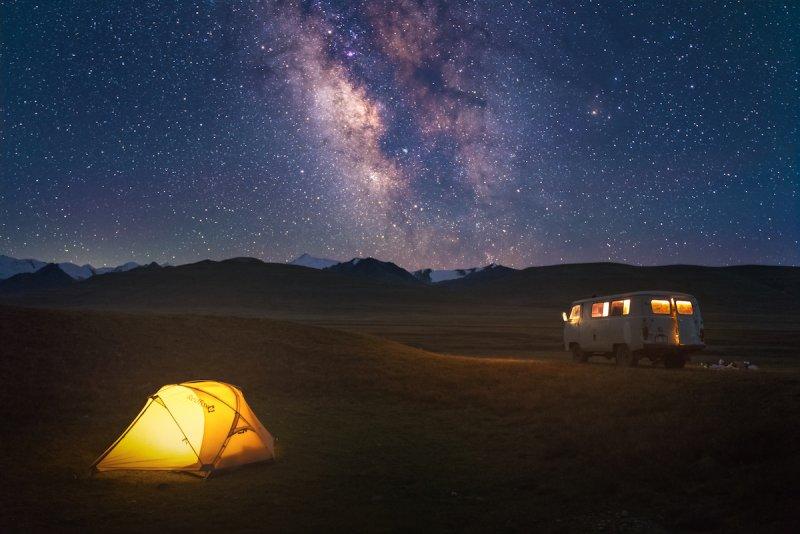 Потрясающие пейзажи Киргизии - №11