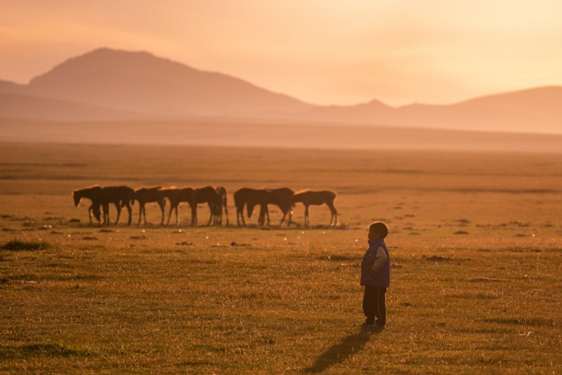 Потрясающие пейзажи Киргизии - №19