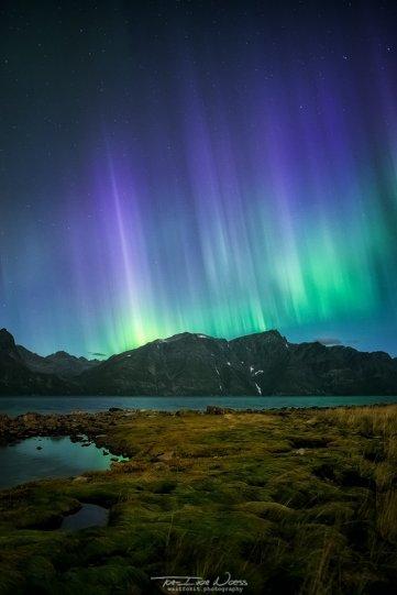 Полярное сияние над Норвегией - №10