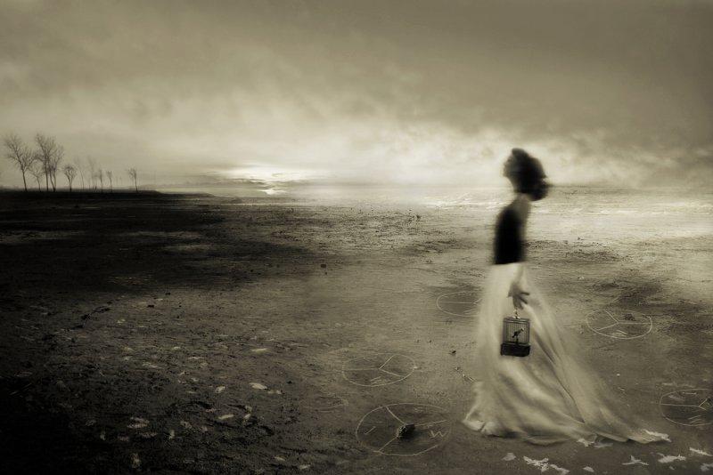 «Блуждающие сны». Фотограф Анджела Бэкон-Кидвелл - №3