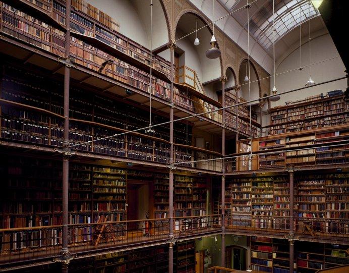 Библиотека Рейксмузеума. Амстердам, Нидерланды.