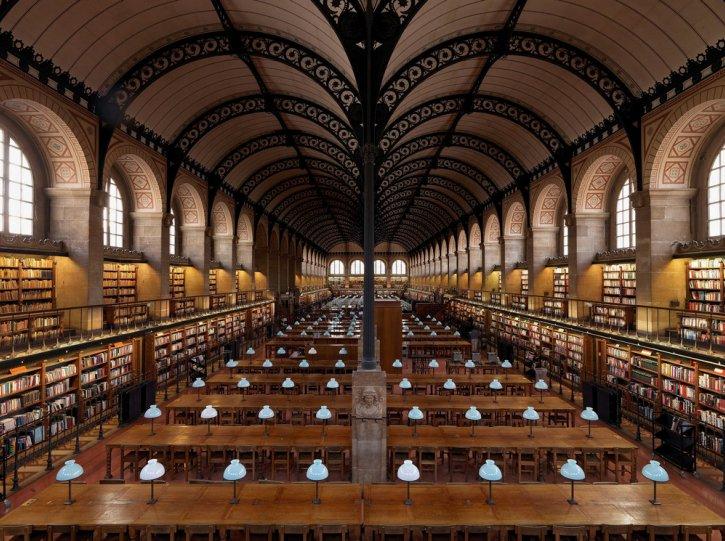 Библиотека Святой Женевьевы. Париж, Франция.