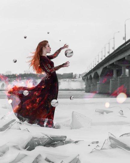 Сюрреалистические автопортреты - №15