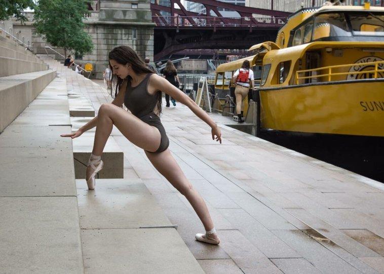 Балерины на улицах - №3