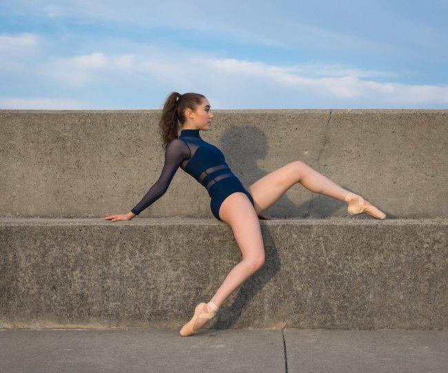 Балерины на улицах - №6