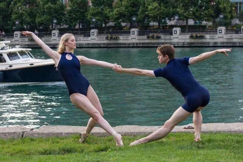 Балерины на улицах - №11