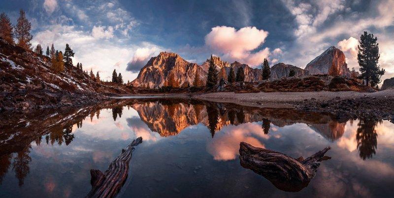 Автор: Max Rive. Доломитовые Альпы