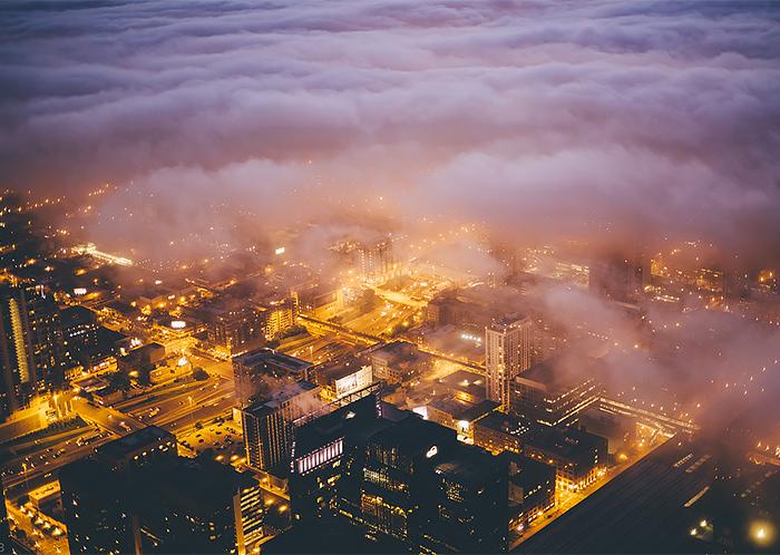 Туманные мегаполисы - №1