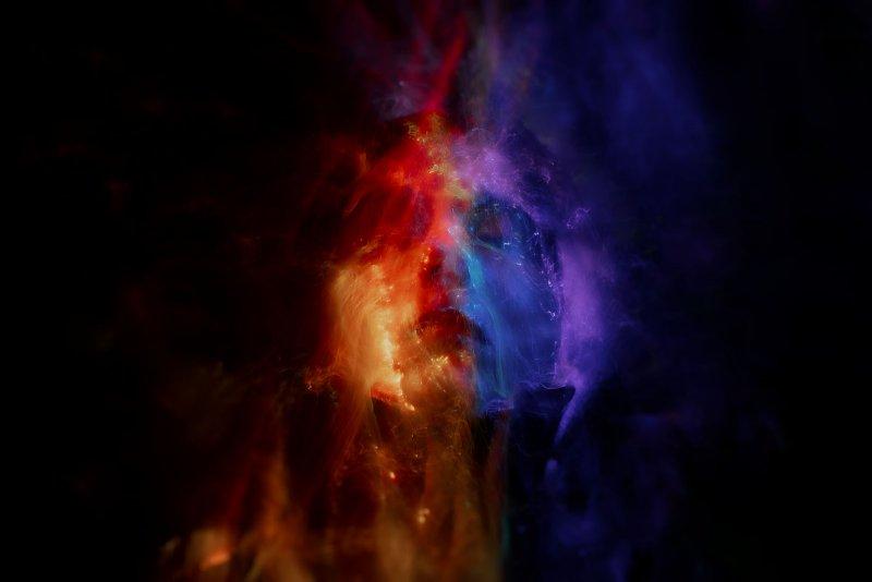 Портреты втехнике световой кисти - №9