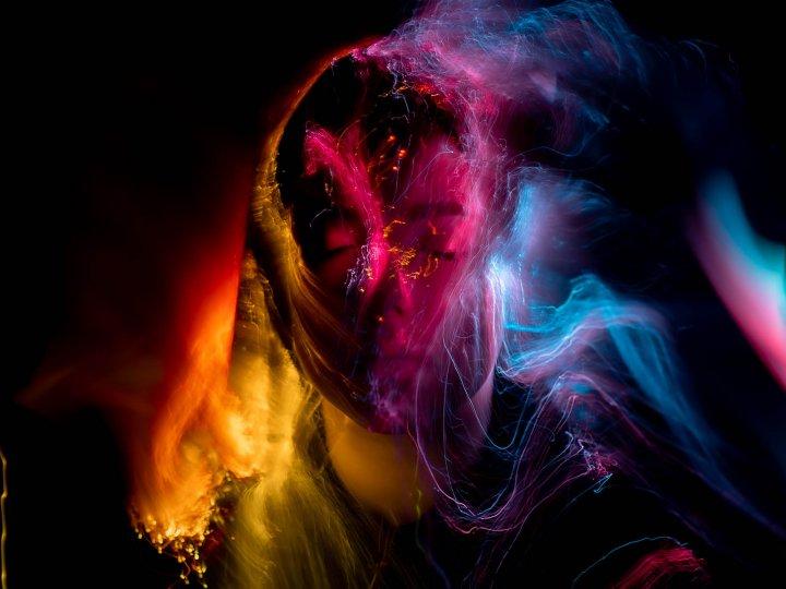 Портреты втехнике световой кисти - №18