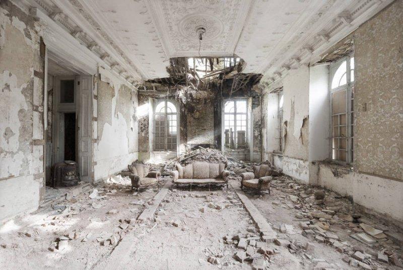Заброшенные дворцы Европы - №10