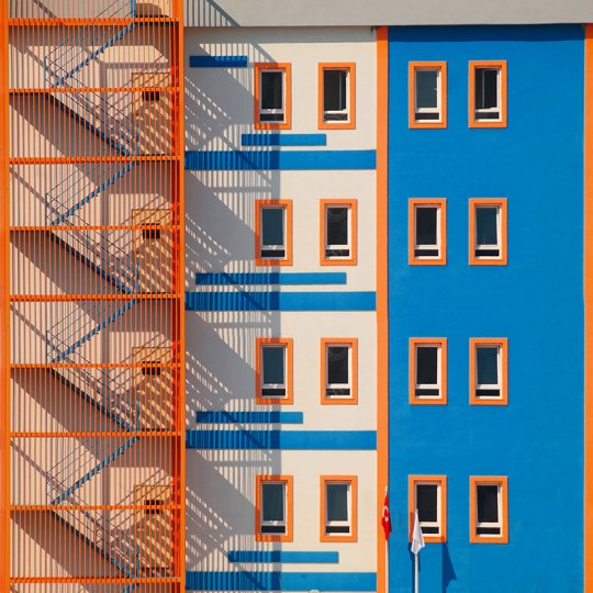 Колоритная архитектура - №9